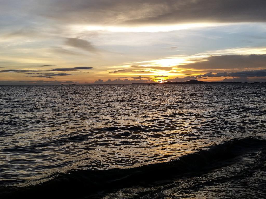 Ban Ampur sunset